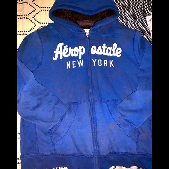 Aeropostale front zip hoodie